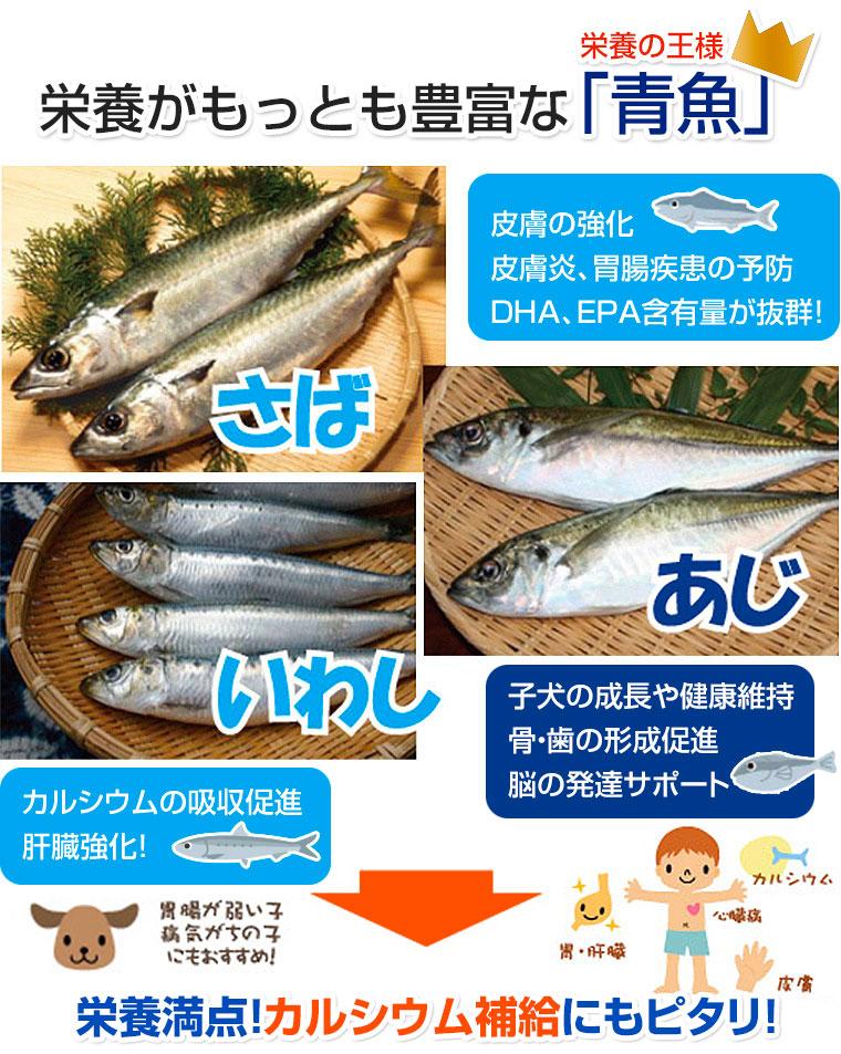 青物魚(鯵・鯖・鰯)のミックスミンチ